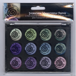 Creative Expressions Cosmic Shimmer Iridescent Watercolour Pallet Set  - Summer Garden