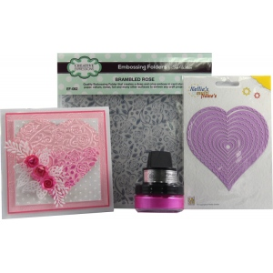 Ecstasy Crafts Essentials Pack - Cotton Candy Card