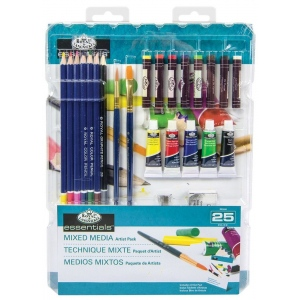 Royal & Langnickel Mixed Media Artist Pack - 25 pc