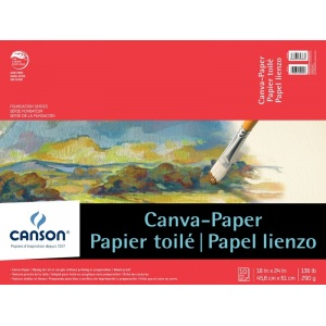 Canson® Foundation Series Canva-Paper™ 10-Sheet Pad