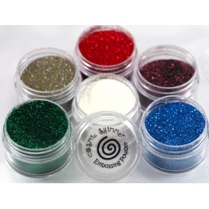 Cosmic Shimmer Brilliant Sparkle Embossing Powder: Dazzle Berry