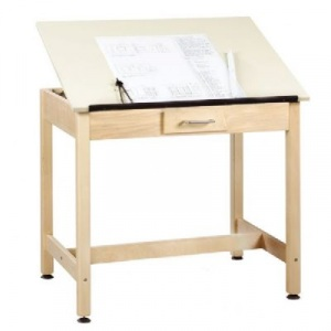 Shain Drawing Table with Small Drawer
