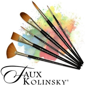 Dynasty® Faux Kolinsky Round Brush