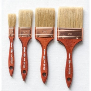 Flat Fresco Varnish Brushes - 9537 Series