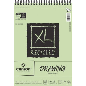 Canson® XL® Recycled Drawing Pad (Top Wire)