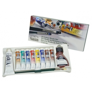 Winsor & Newton™ Winton Oil Color Studio Set: Multi, Tube, Oil, (model 1490620), price per set