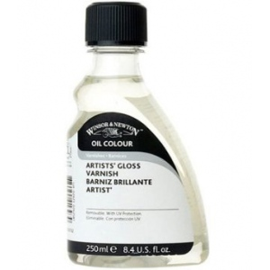 Winsor & Newton™ Artists' Gloss Varnish 250ml: Gloss, 250 ml, Varnish, (model 3239732), price per each