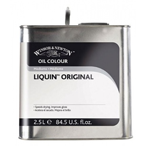 Winsor & Newton™ Liquin™ Original Medium 2.5 Liter Canadian Labeling: 2.5 ltr, Oil Alkyd, (model 3256751), price per each