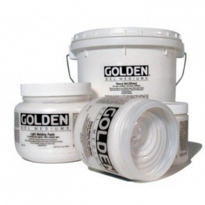 Golden® Soft Gel Medium 128 oz.: Gloss, 128 oz, 3.78 ltr, Gel, (model 0003010-8), price per each