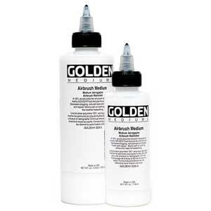 Golden® Airbrush Medium 32 oz.: 32 oz, 946 ml, Airbrush, (model 0003535-7), price per each