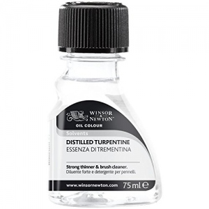 Winsor & Newton™ Turpentine 75ml (Canadian Labeling): 75 ml, Solvents, (model 2721744), price per each