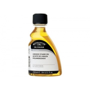 Winsor & Newton™ Stand Linseed Oil 250ml: 250 ml, Linseed Oil, (model 3239749), price per each