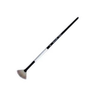 Dynasty® Black Silver® Blended Synthetic Watercolor Brush Fan