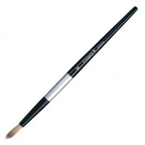Dynasty® Black Silver® Blended Synthetic Watercolor Brush Round 4: Short Handle, Bristle, Round, Watercolor