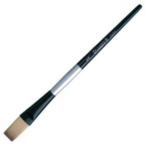 Dynasty® Black Silver® Blended Synthetic Watercolor Brush Stroke
