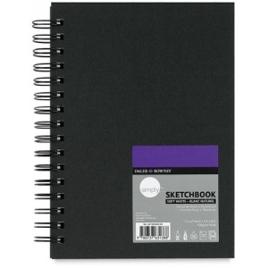 Cachet® Simply™ Sketchbook: Extra White Paper, Wirebound