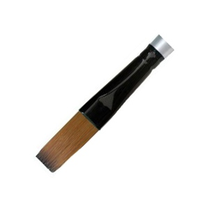 Daler-Rowney Simply Simmons Synthetic Acrylic/Multimedia Brush Round 4: Short Handle, Bristle, Round, Acrylic, Multimedia