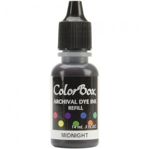 ColorBox® Archival Dye Refill Midnight: Blue, Pad, Dye-Based, (model CS27426), price per each