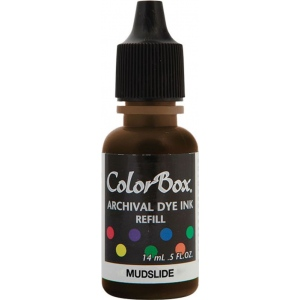 ColorBox® Archival Dye Refill Mudslide: Brown, Pad, Dye-Based, (model CS27422), price per each
