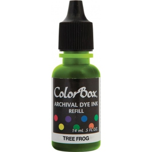 ColorBox® Archival Dye Refill Tree Frog: Green, Pad, Dye-Based