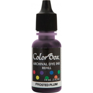 ColorBox® Archival Dye Refill Frosted Plum: Purple, Pad, Dye-Based, (model CS27408), price per each