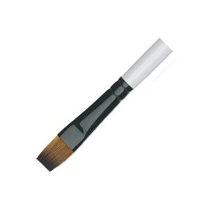 Daler-Rowney Simply Simmons Synthetic Acrylic/Multimedia Brush Flat Shader 14: Short Handle, Bristle, Flat Shader, Acrylic, Multimedia, (model SS255060014), price per each