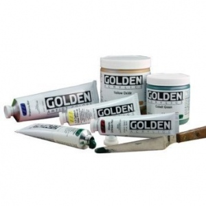 Golden® Heavy Body Acrylic 5 oz. Teal: Blue, Tube, 5 oz, Acrylic, (model 0001369-3), price per tube