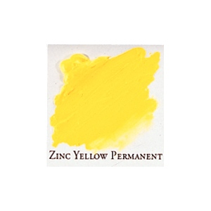 Professional Permalba Zinc Yellow Permanent: 37ml Tube