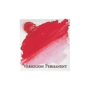 Professional Permalba Vermilion Permanent: 37ml Tube