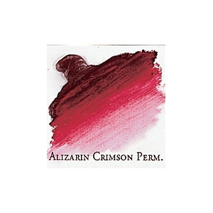 Professional Permalba Alizarin Crimson Permanent: 150ml Tube