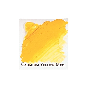Professional Permalba Cadmium Yellow Medium: 150ml Tube