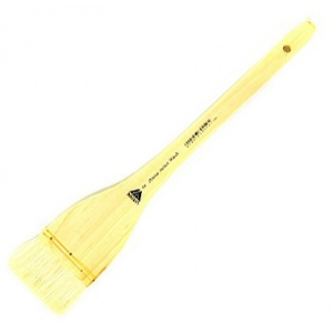 Prima White Goat Hake Brush with Split Handle