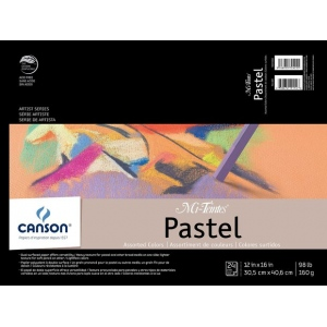 Canson® Mi-Teintes® Artist Series Fold Over Bound Pad: Assorted Colors