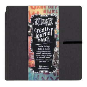 Ranger - Dyan Reaveley - Dylusions - Creative Journal Square - Black