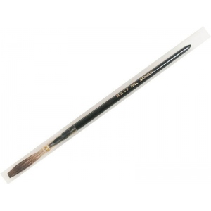 Mack Grey Pencil Quill Series 189: White Plain Wood Handle Size-10