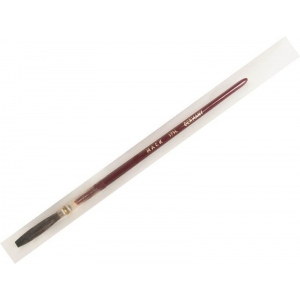 Mack Brown Pencil Quill Series 179L: #11, With Red Lacquered Handle