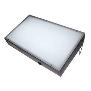 "Gagne Porta-Trace Light box: 11"" x 18"", Stainless Steel Frame"