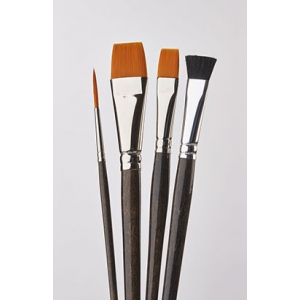 Donna Dewberry 4 Piece Acrylic Brush Set