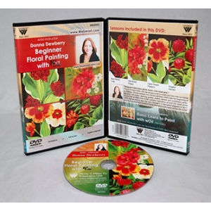 Donna Dewberry DVD-Floral Beginner Painting With Woil
