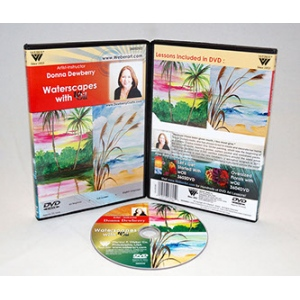 Donna Dewberry DVD-Waterscapes Painting With Woil