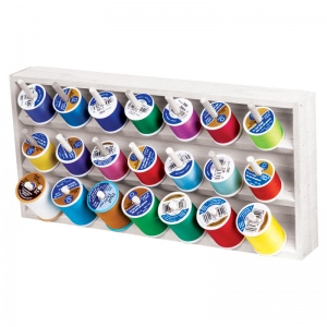 Thread Storage Tray - White