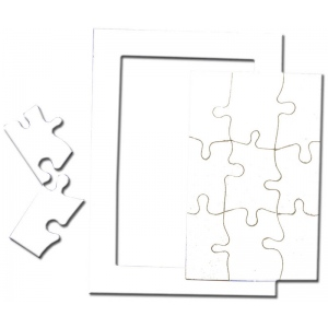 "Inovart Picture Puzzle 5"" x 7"" - 12 per pack"