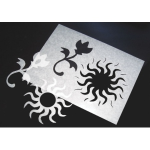 "Inovart Stencil-It Waxed Stencil Paper 18"" x 24"" - 12 Sheets Per Package"