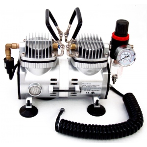Inovart 1/6hp Oil-Less Mini Air Compressor, WAC 2000
