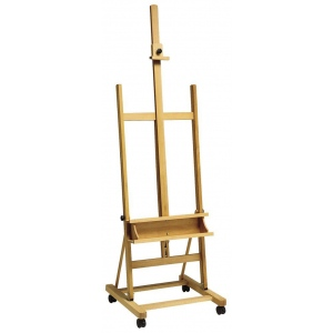 Winsor & Newton™ Welland H-Frame Studio Easel: Wood, Artist, (model 7006219), price per each
