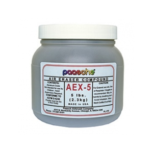 Paasche AEX-5 Fast Cutting Compound: 5 lb.