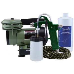 Paasche Model D200T Tanning Set with D200 Air Compressor (1/6 hp.)