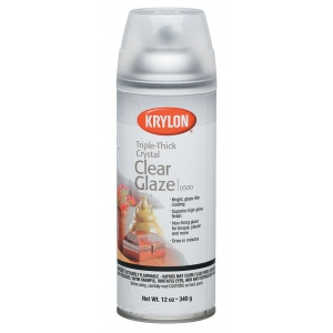 Krylon® Crystal Clear Glaze Spray: Gloss, Varnish & Specialty, (model K0500), price per each