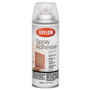 Krylon® All-Purpose Spray Adhesive: Repositionable/Permanent, (model K7010), price per each