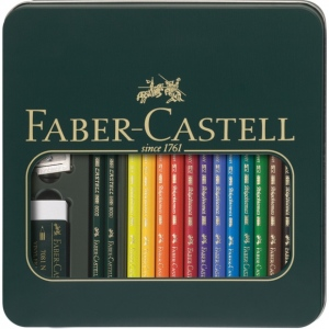 Faber-Castell 16-Piece Mixed Media Kit